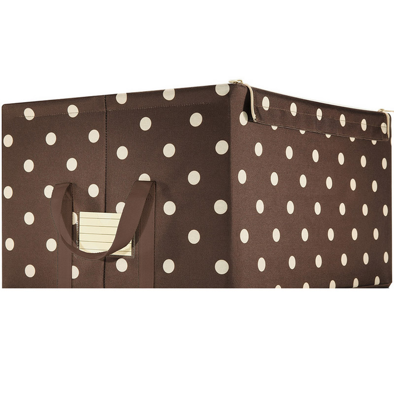 Reisenthel Коробка для хранения Storagebox L mocha dots
