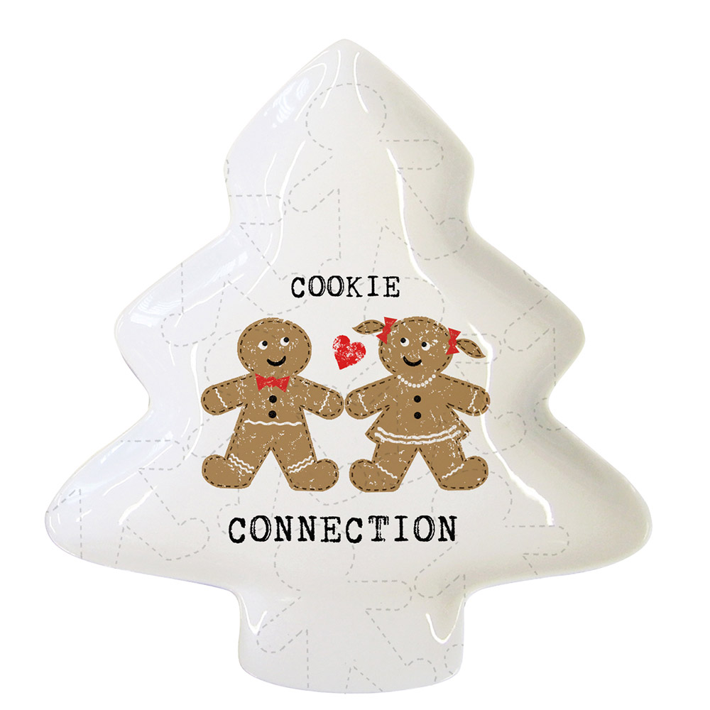 Тарелка Cookie Connection большая