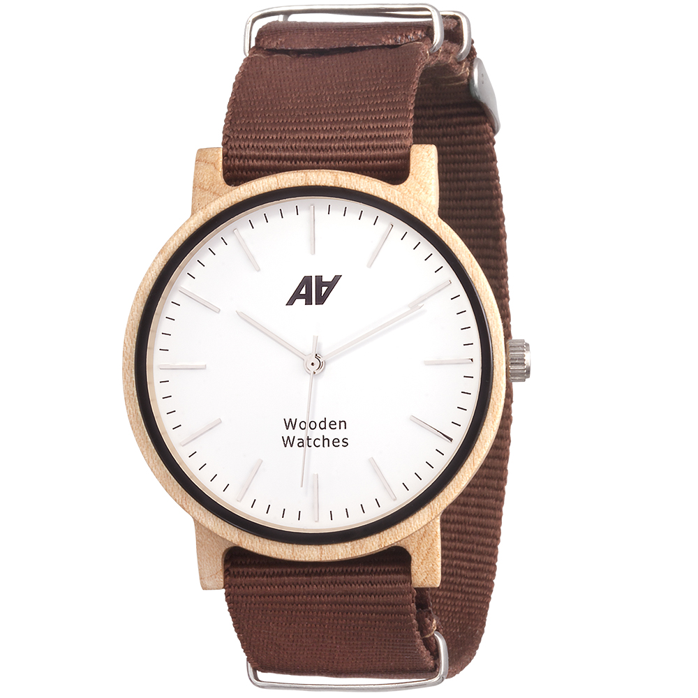 Casual Rosewood Nato Brown