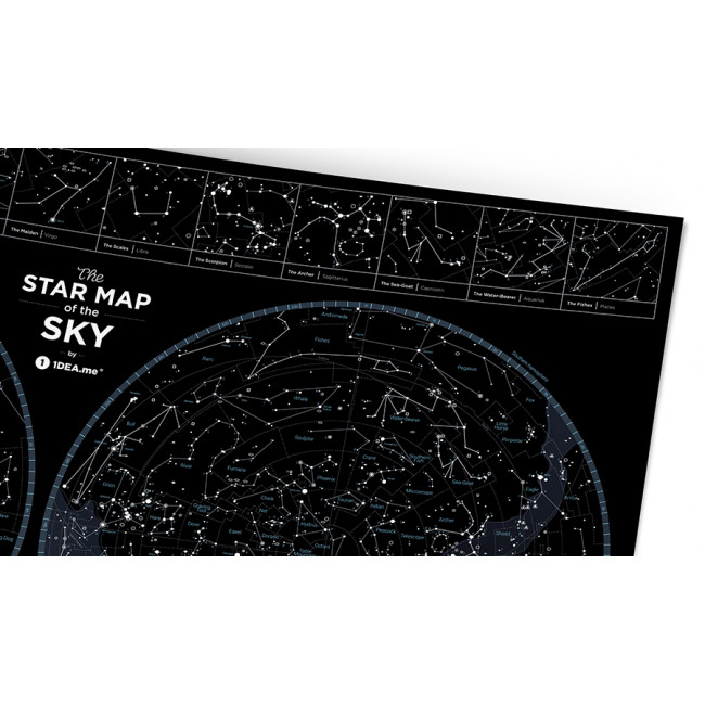 Карта Star Map of the SKY фото