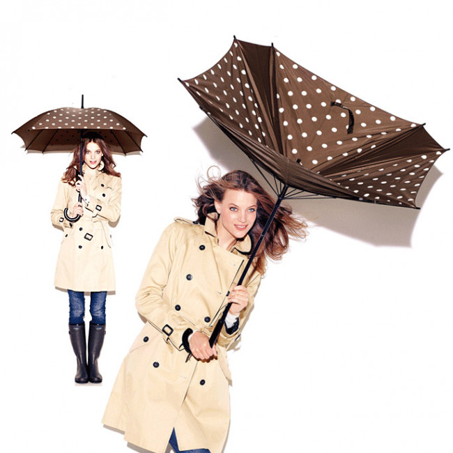 Зонт-трость Umbrella funky dots 2 фото