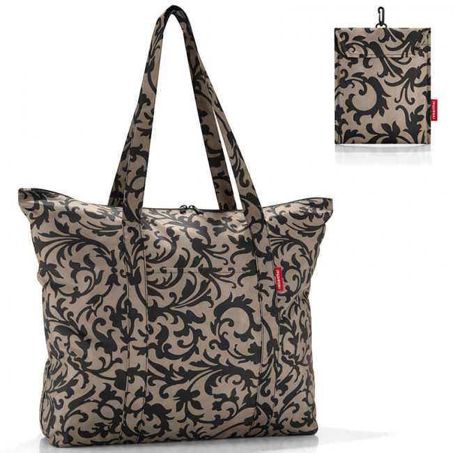 Сумка складная Mini maxi travelshopper baroque taupe фото