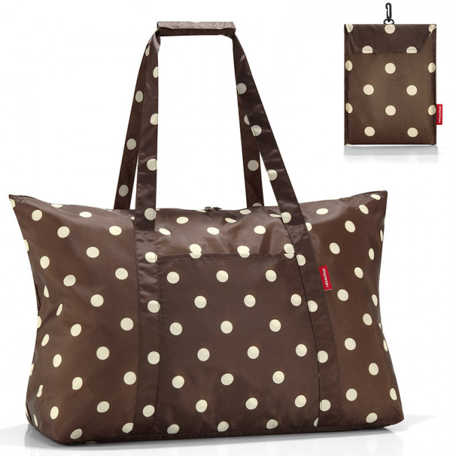 Сумка складная Mini maxi travelbag mocha dots фото