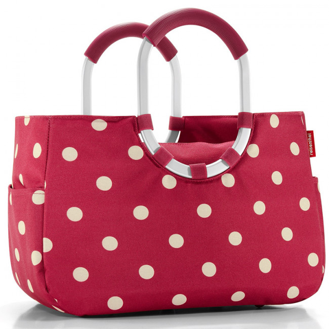 Сумка Loopshopper M ruby dots фото