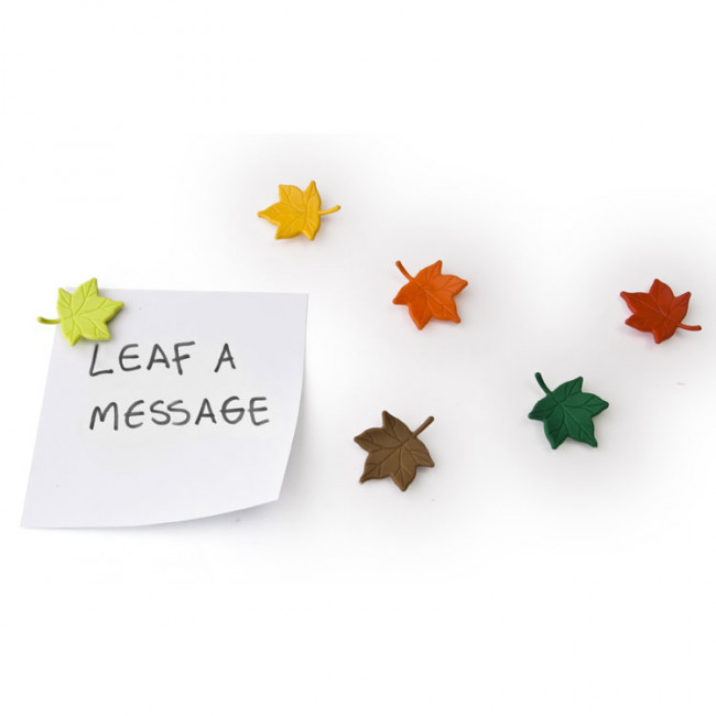 Набор из 6 магнитов Leaf a Message фото