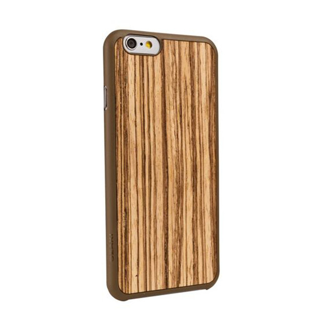 Чехол для iPhone 6/6S Ozaki O!coat 0.3+ Wood case Zebrano фото