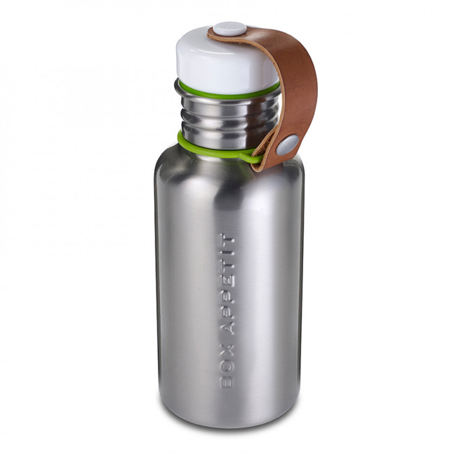Фляга Water Bottle 350 мл сталь-лайм фото