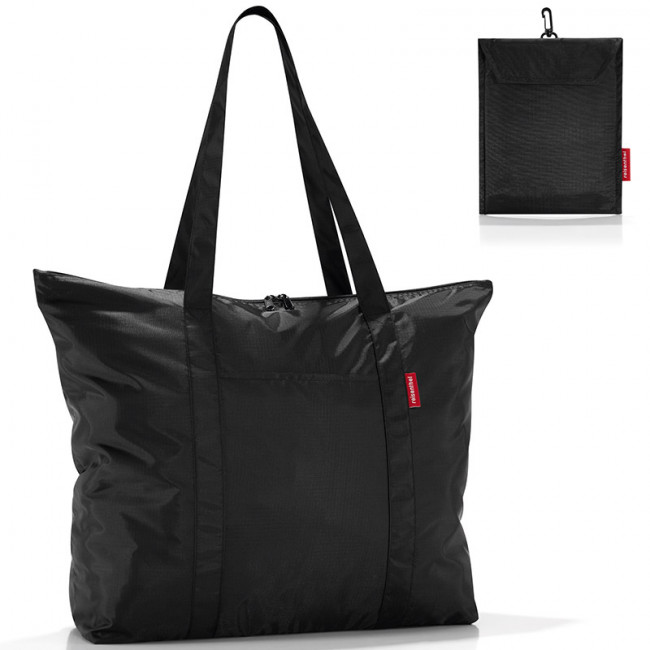 Сумка складная Mini maxi travelshopper black фото
