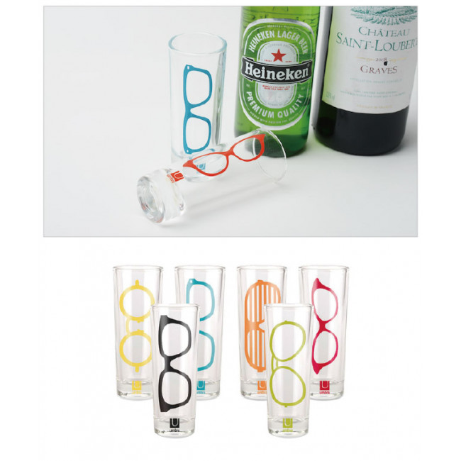 Набор из 6 рюмок Shot glasses фото