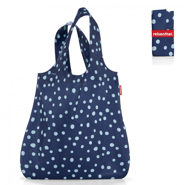 Сумка складная Mini maxi shopper spots navy фото